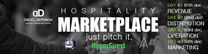 Dingus lleva su propuesta para la distribución al Hospitality Marketplace #Justpitchit