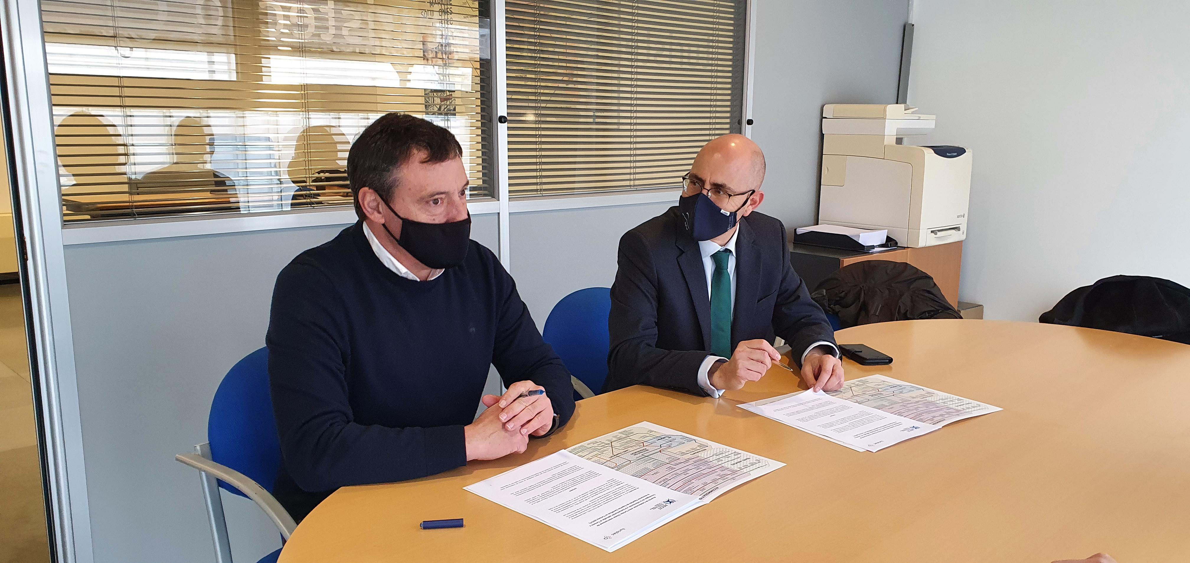 Dingus valora muy positivamente el reciente convenio entre Turistec y la AECIT